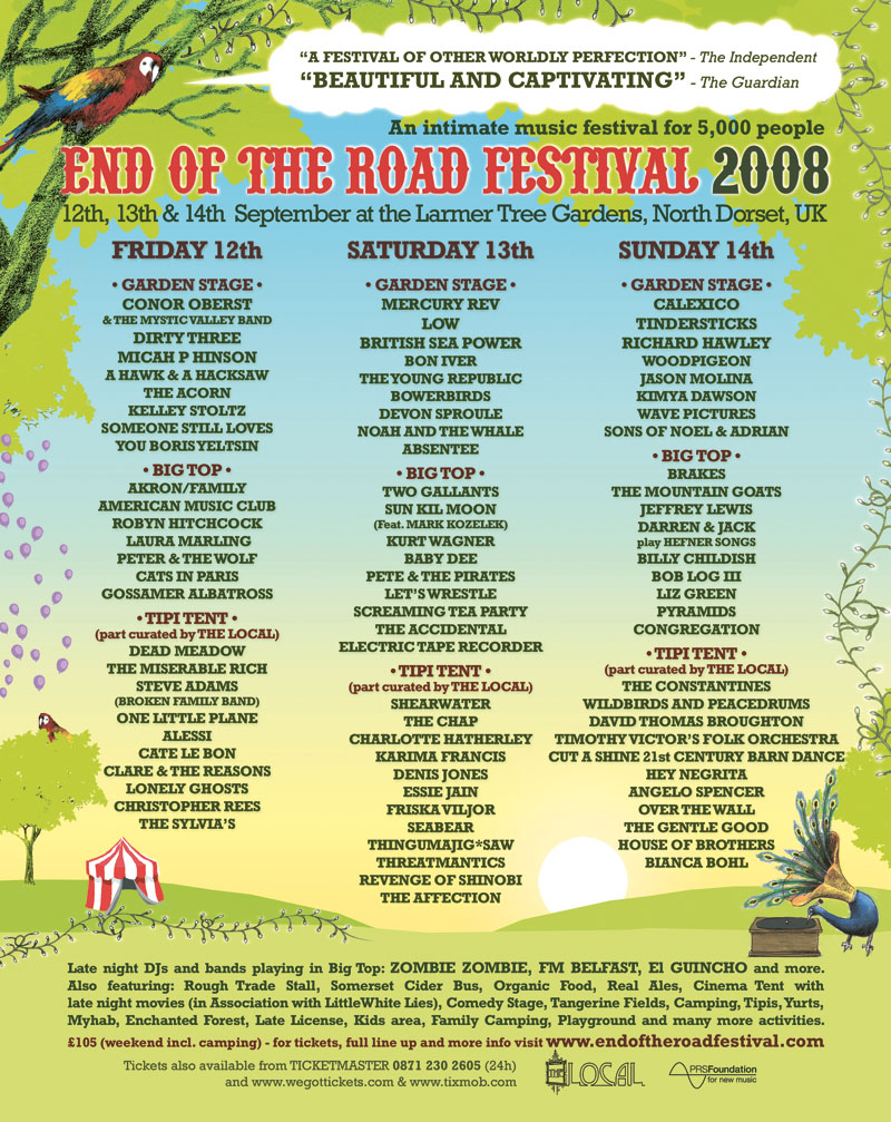lineup2008