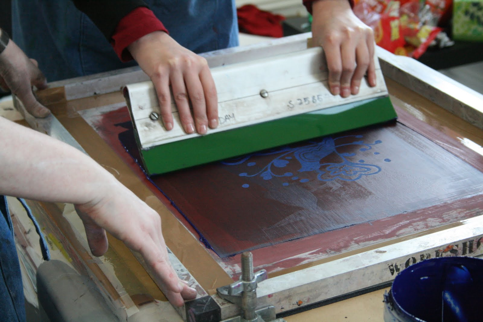 Home Textile Design Studio India Screen Printing End Of The Road